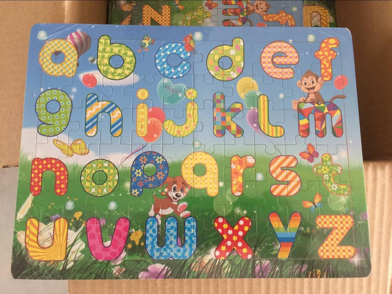 Đồ chơi ghép hình bằng gỗ - Combo 3 tranh ghép hình MK0001