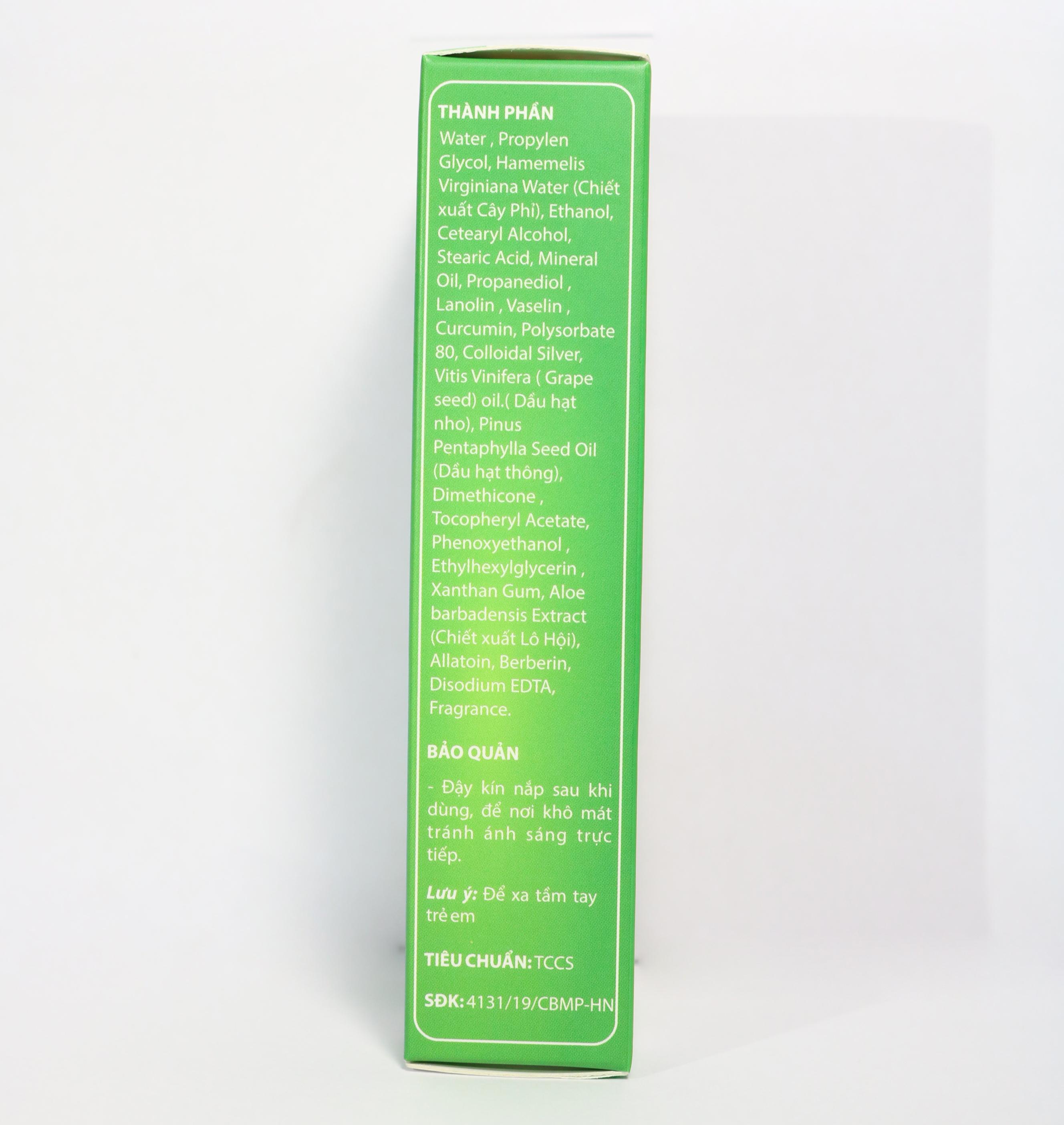 Kem bôi trĩ Diếp Cá Vương Plus giảm nỗi lo bệnh trĩ, giảm đau rát búi trĩ, giảm nứt nẻ da - Tuýp 10 gram chiết xuất thảo dược an toàn cho da