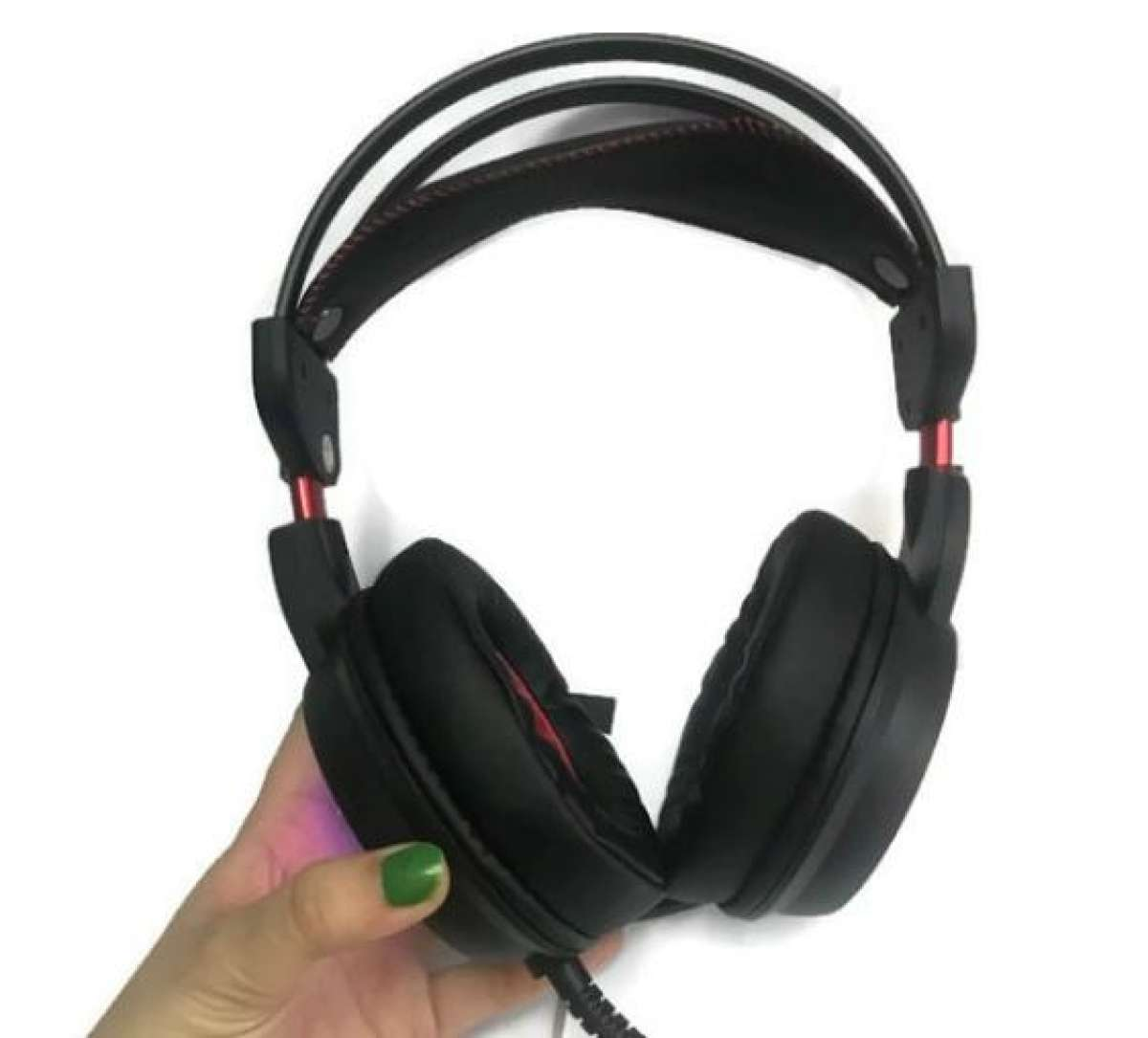 Tai nghe gaming PUG G-net GH9 âm thanh 7.1 (USB) Led RGB Hỗ trợ rung - Hàng Nhập Khẩu