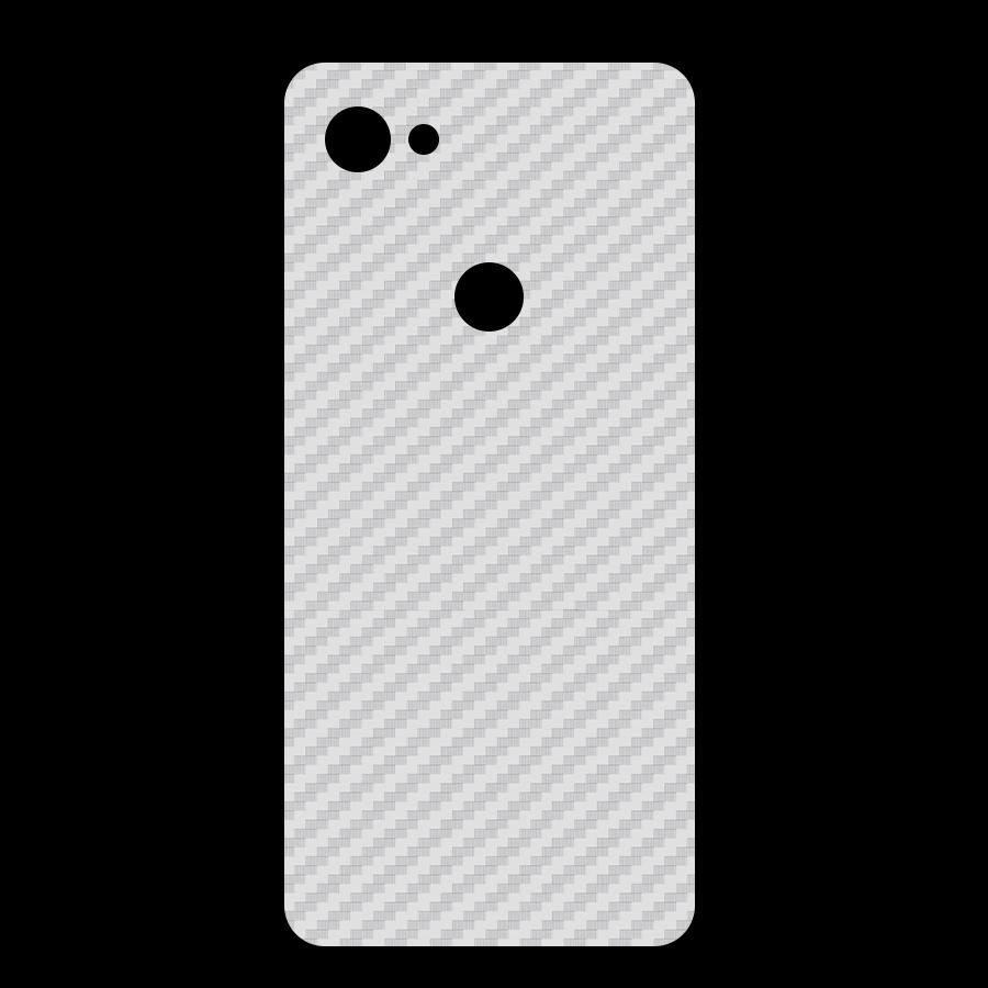 Miếng Dán Mặt Lưng Cacbon Dành Cho Google Pixel 3A XL- Handtown - Hàng Chính Hãng