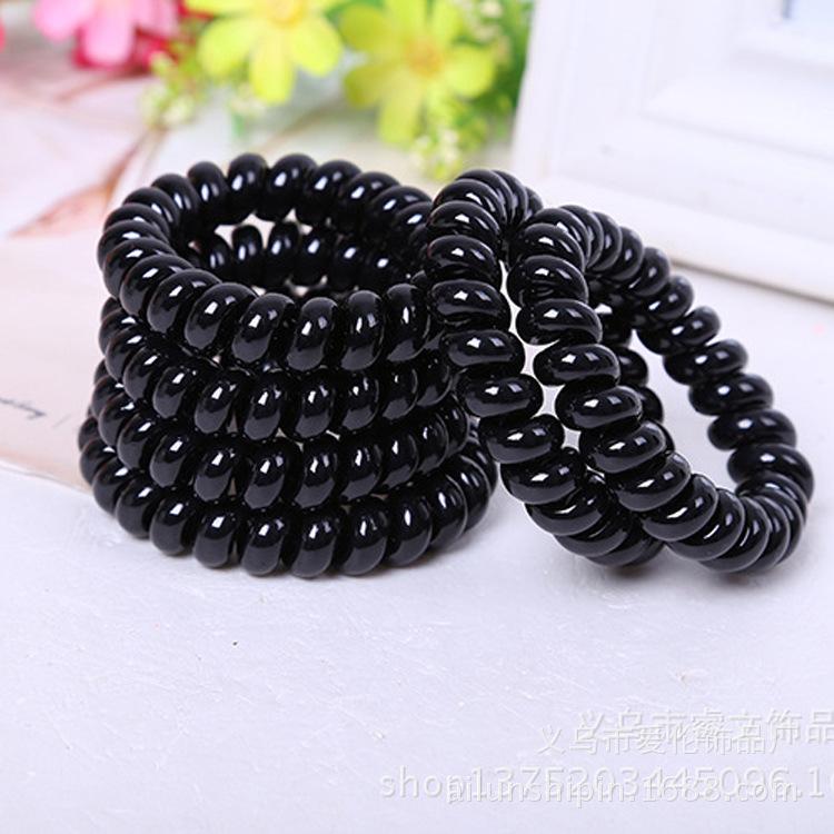 Bộ 24 móng tay giả caro hot tặng kèm 01 thun lò xo cột tóc màu đen tiện lợi
