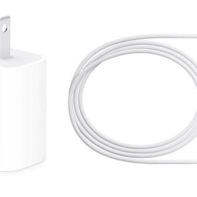Bộ Sạc 18w kèm Cáp USB-C to Lightning cho iPhone X và iPhone Xs
