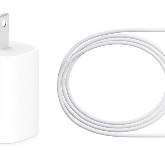 Bộ Sạc 18w kèm Cáp USB-C to Lightning cho iPhone Xs Max