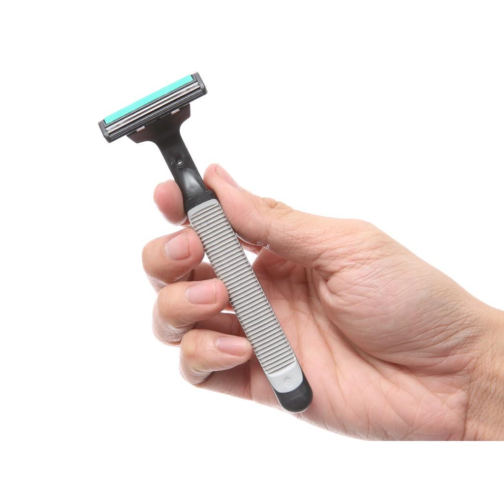 Dao cạo râu uốn cong theo làn da lưỡi dao kép sắc - TVS