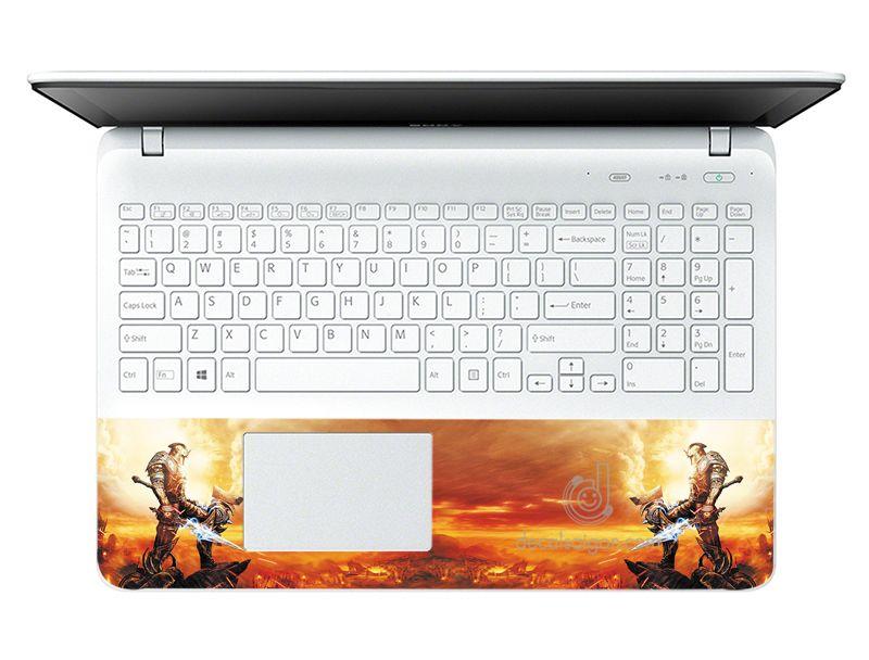 Mẫu Dán Decal Nghệ Thuật Cho Laptop LTNT-376 cỡ 13 inch