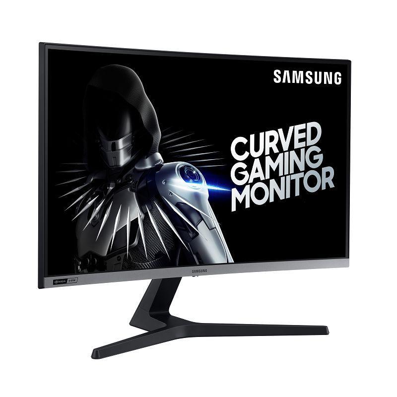 Màn Hình Cong Gaming Samsung LC27RG50FQE 27 inch 1500R Curved Screen Full HD (1920 x 1080) 4ms 240Hz G-sync VA - Hàng Chính Hãng