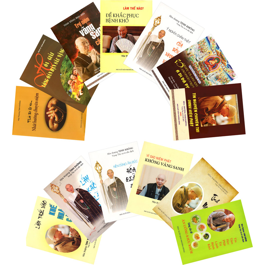 Combo 13 Cuốn Sách Của Hòa Thượng Tịnh Không Pháp Ngữ