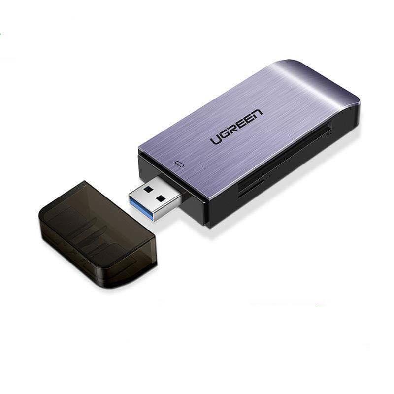 Đầu Đọc Thẻ SD/TF/MS/CF Chuân USB 3.0 A - Chính Hãng Ugreen 50541