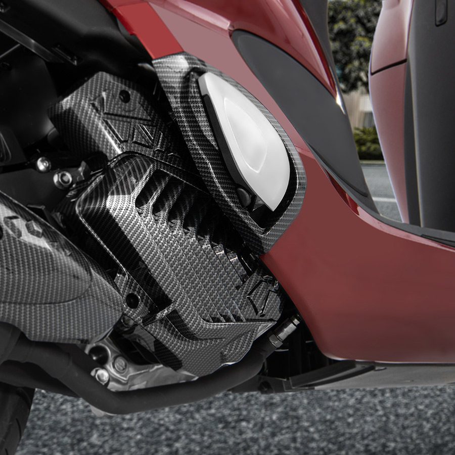 Ốp Két Tản Nhiệt Universe Honda SH Mode 2020 Carbon