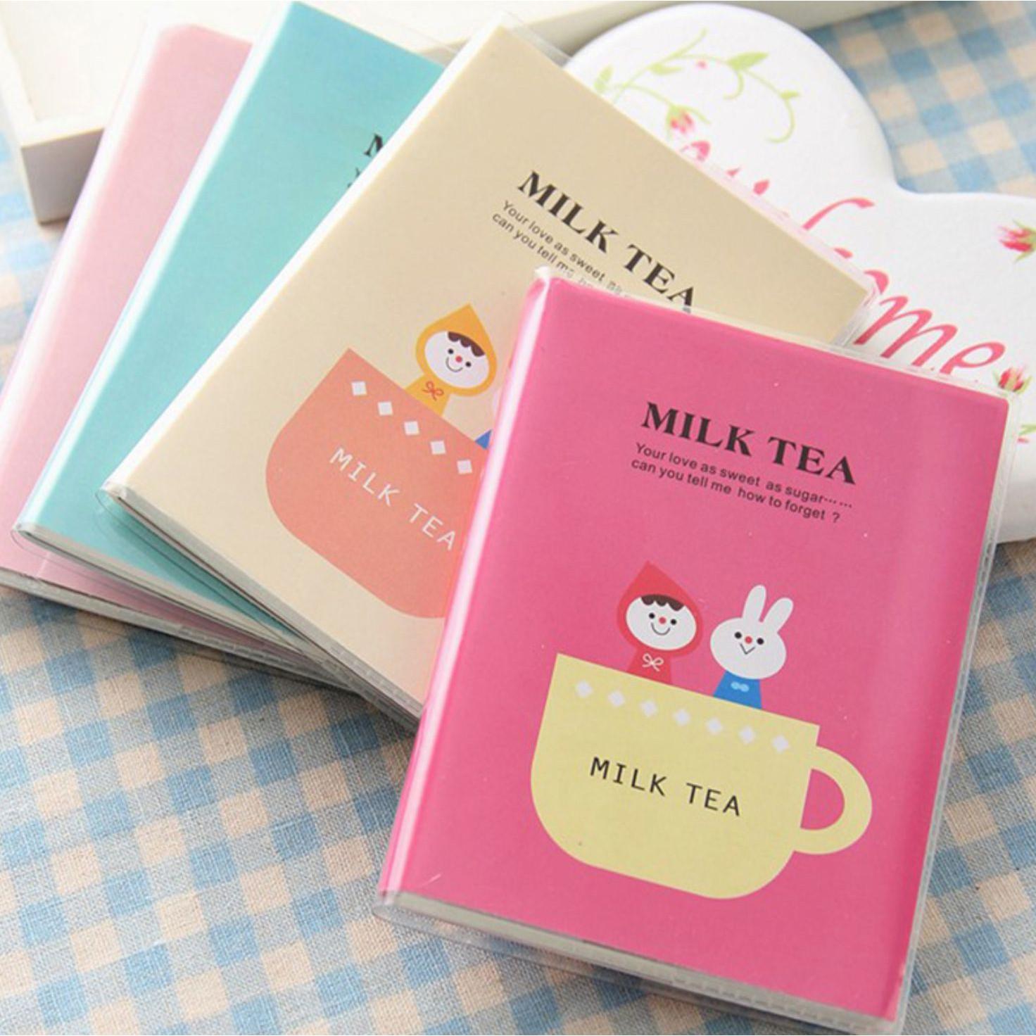 [COMBO 3 Cuốn] Sổ tay mini MILK TEA độc đáo 69 tờ
