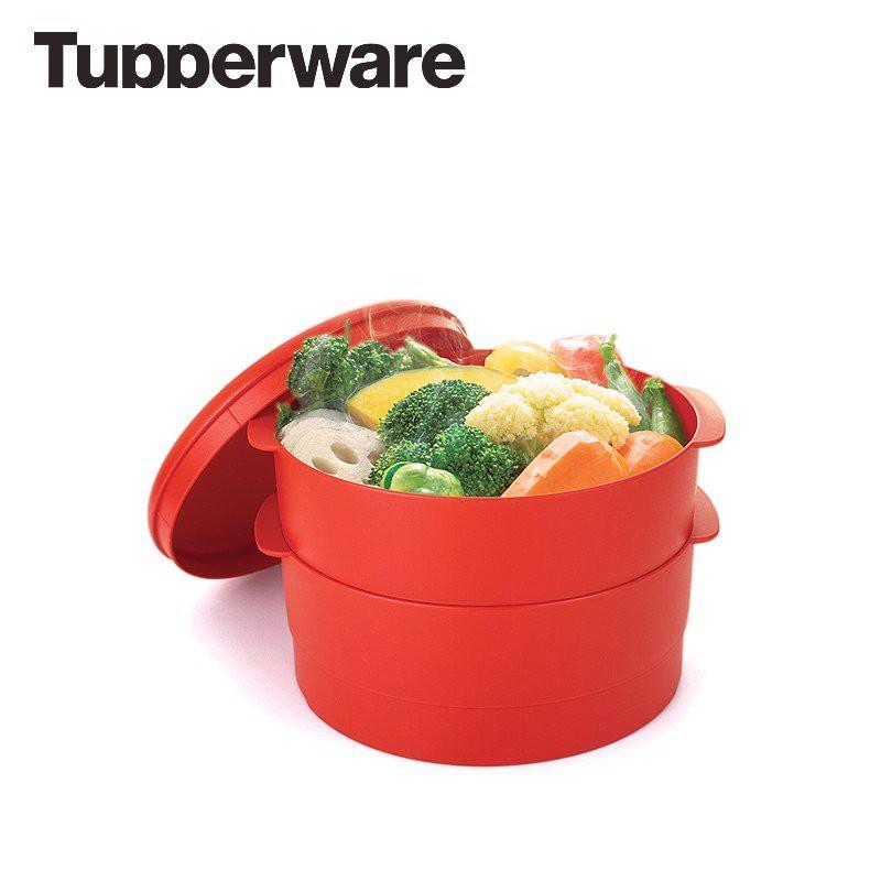 XỬNG HẤP TUPPERWARE 2 TẦNG