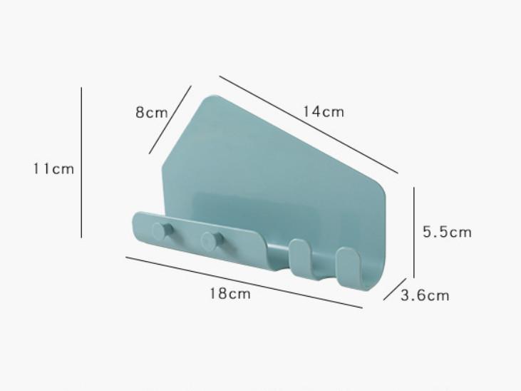 Combo 2 Kệ Treo Sạc hình tam giác cho Điện Thoại, Ipad (giao màu ngẫu nhiên)