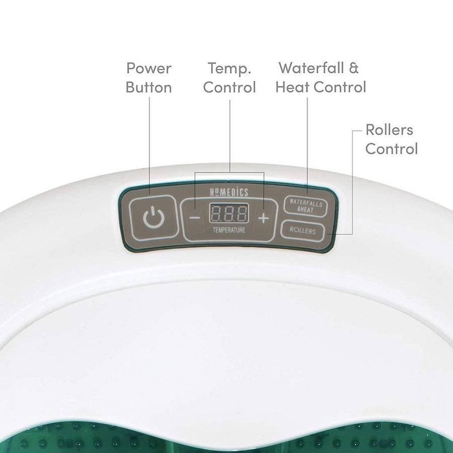 Bồn ngâm chân cao cấp massage USA đa năng con lăn xoay tự động HoMedics FB-650 ,nhập khẩu USA