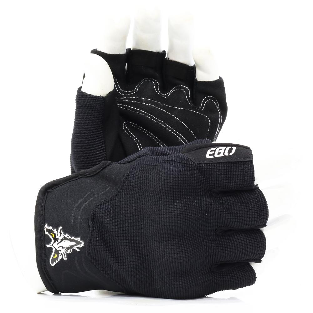 Găng tay EGO ngắn ngón bảo hộ cho người đi xe motô, xe gắn máy, đi phượt