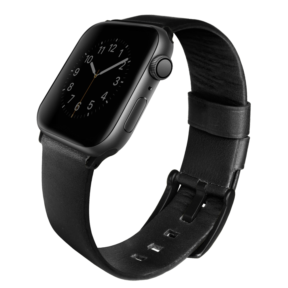 Dây da Nappa cho Apple Watch UNIQ Mondain Genuine Leather Strap Size 40/ 44mm_ Hàng chính hãng