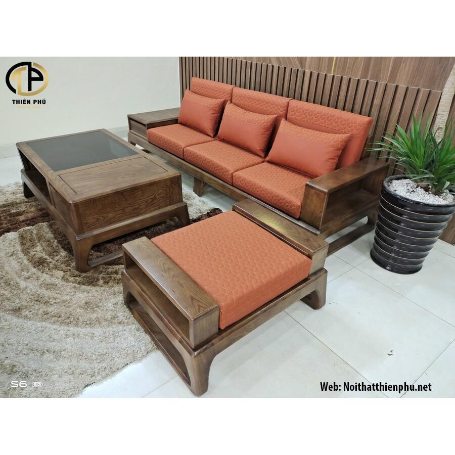 Bộ bàn ghế Sofa gỗ mini gỗ Sồi Nga