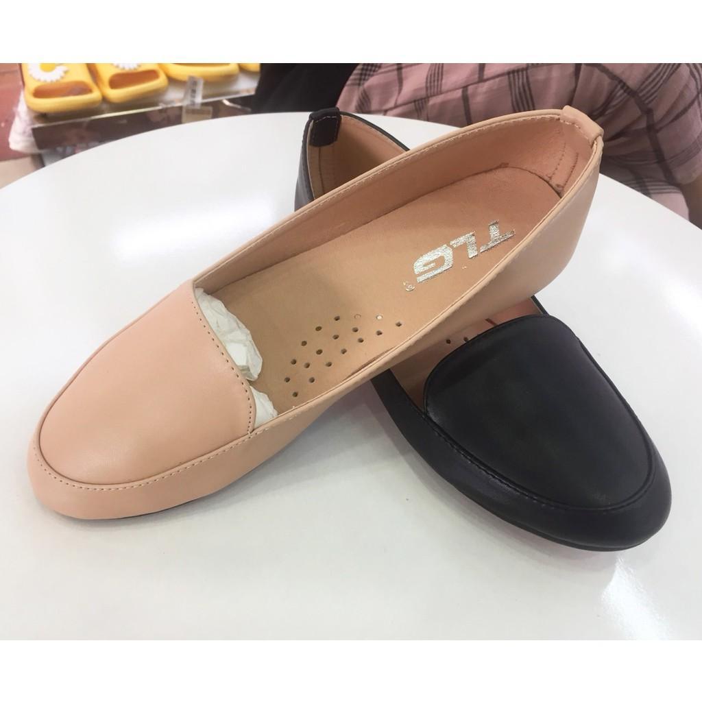 Giày Bệt Nữ, Búp Bê Đính Nơ Xoắn Siêu Dễ Thương 21667