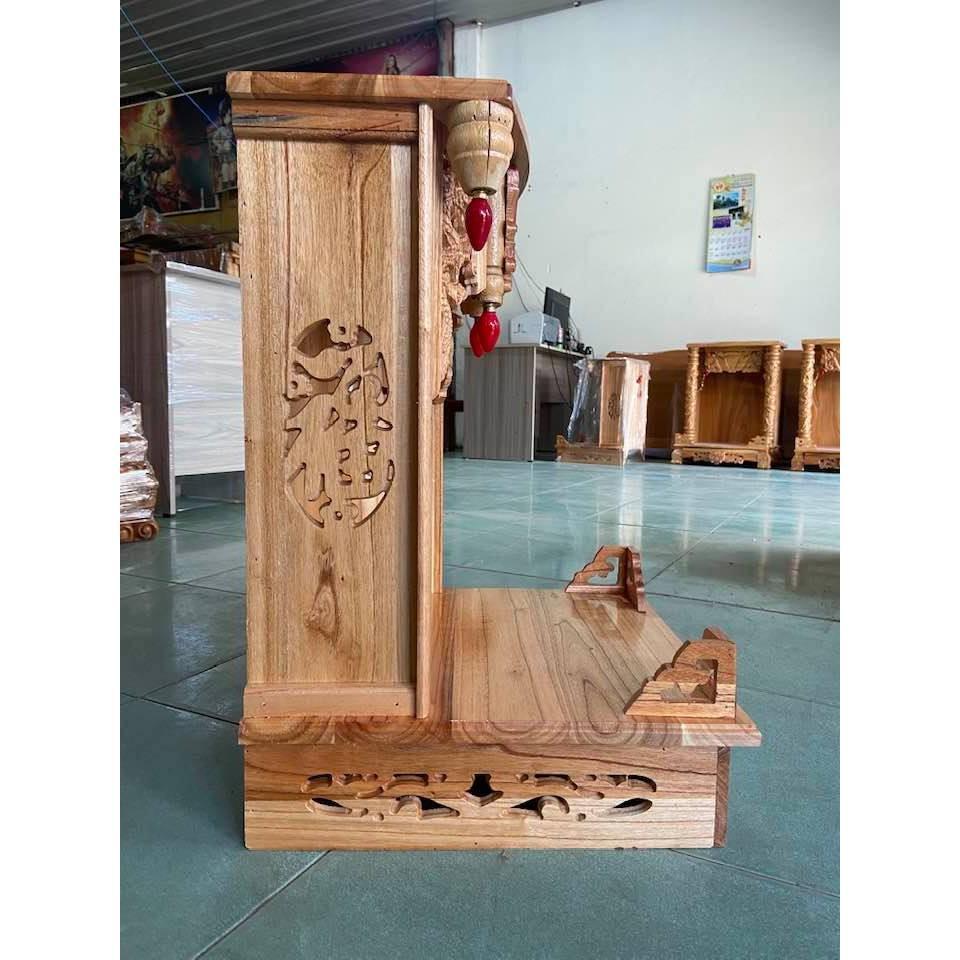 Bàn thờ thần tài ngang 38cm BTX38T