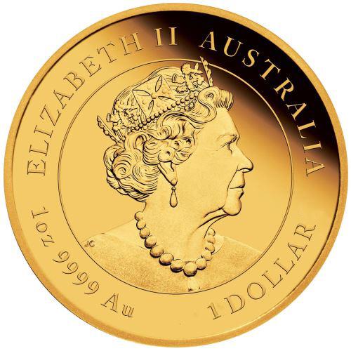 Đồ lưu niệm - Cặp Đồng Xu Hình Con Chuột Úc Mạ Kim Loại Vàng Bạc 2020 cùng hộp nhung đỏ sang trọng