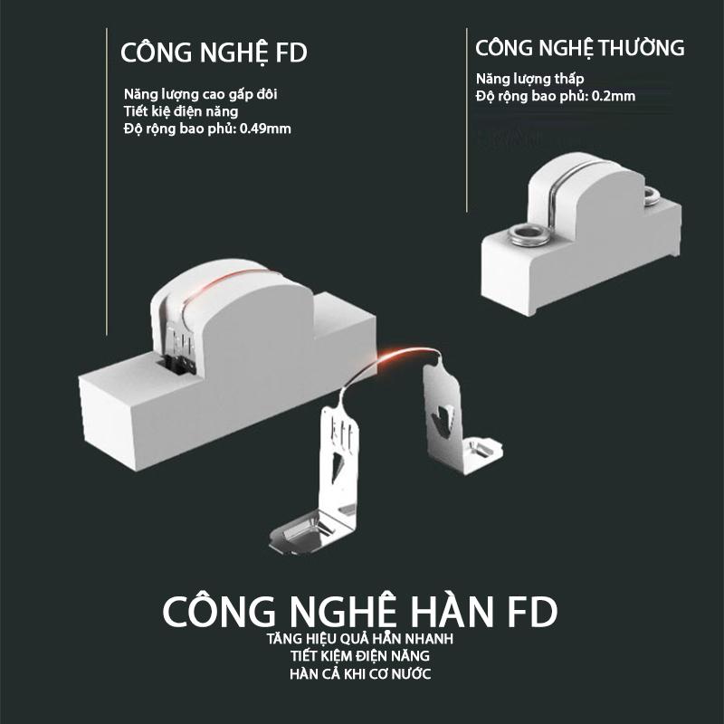Máy Dán Miệng Túi Mini FD (Giao màu ngẫu nhiên) - Hàng Nhập Khẩu