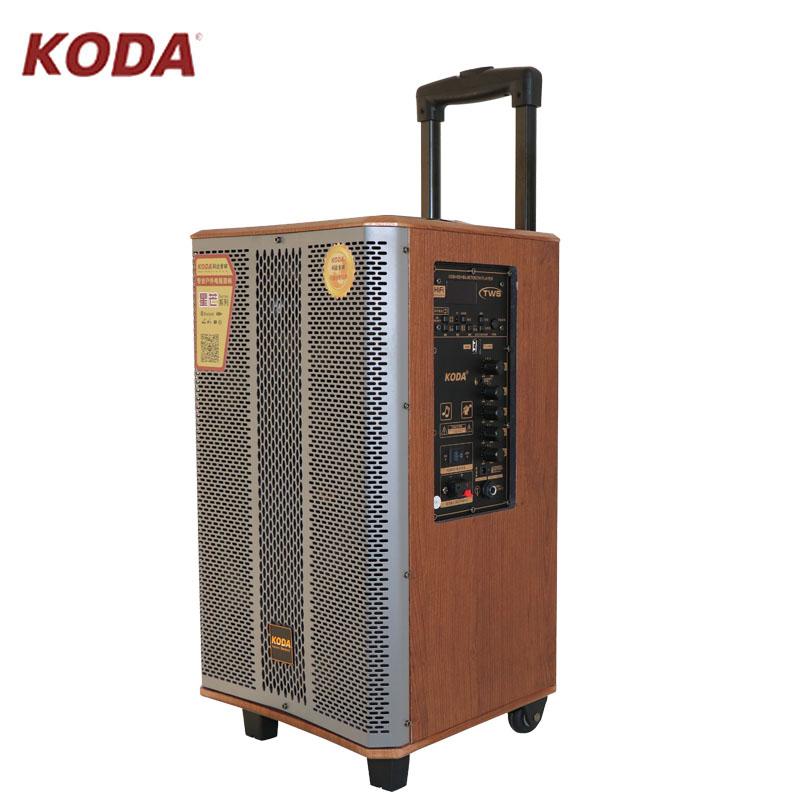 """Loa kéo Koda KD-805 bass 8"""" , 2 Mic kèm điều khiển, hàng chính hãng"""