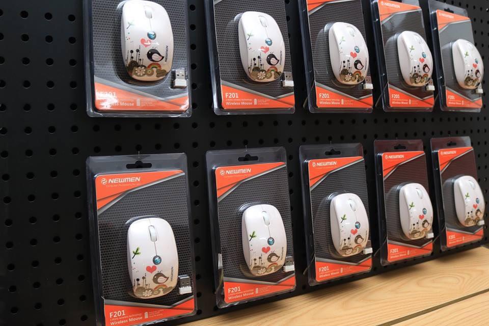 Chuột máy tính không dây Newmen F201_hàng chính hãng