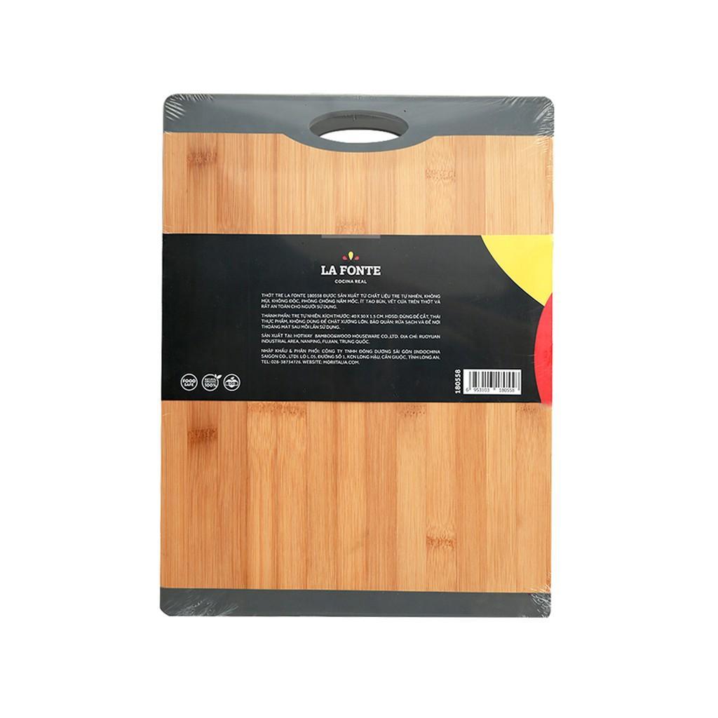 Thớt Tre Lafonte Bamboo 40x30 -180558