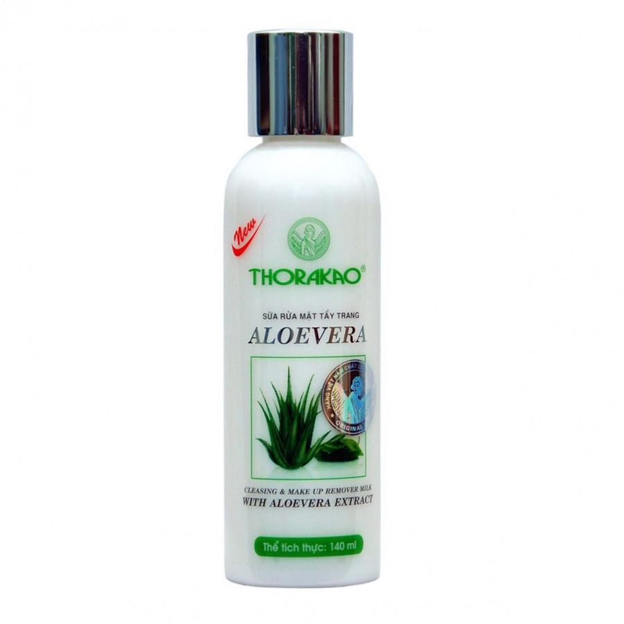 Sữa Tẩy Trang Thorakao Aloe Vera 140g