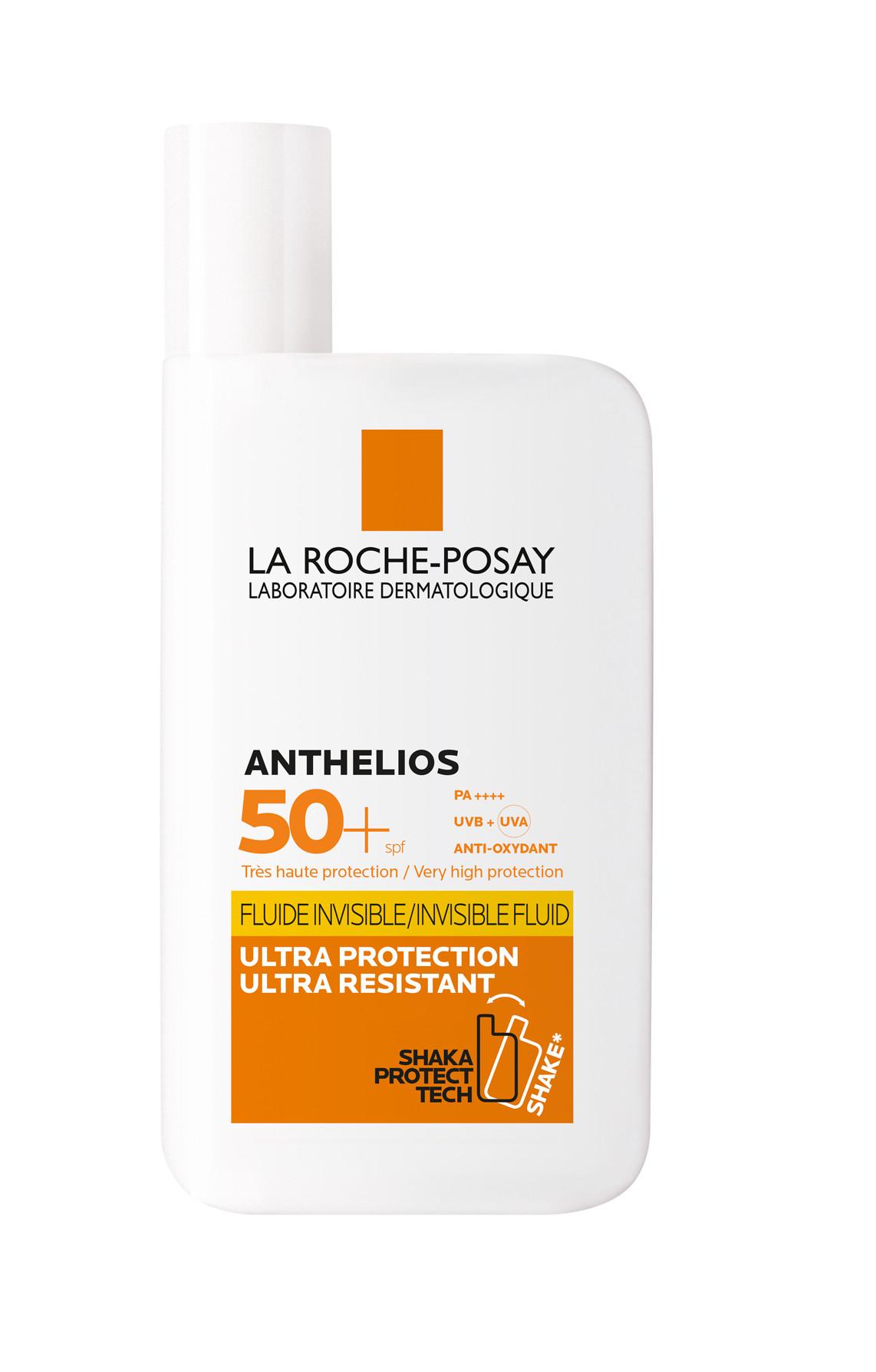 Bộ chống nắng không nhờn rít La Roche-Posay Anthelios Shaka Fluid 50ml & Nước Tẩy Trang Làm Sạch Sâu Cho Da Nhạy Cảm La Roche-Posay Micellar Water Ultra Sensitive Skin 100ml
