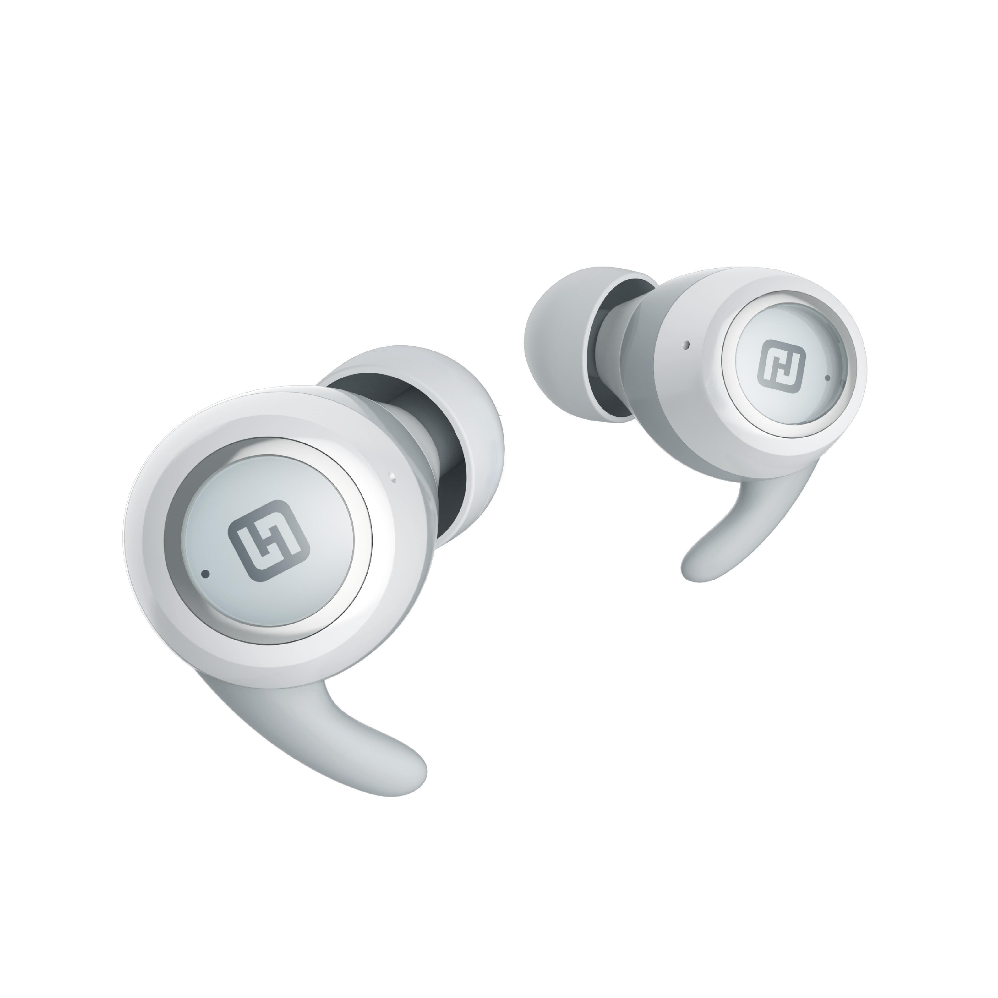 Tai nghe Bluetooth 5.0 - Tai nghe TWS - OlymBuds - HiFuture - Best Sound- HiFuture Soft Bass/Stereo C&M/IPX5/Up to 18hr/Auto connect/AI (Hàng chính hãng)