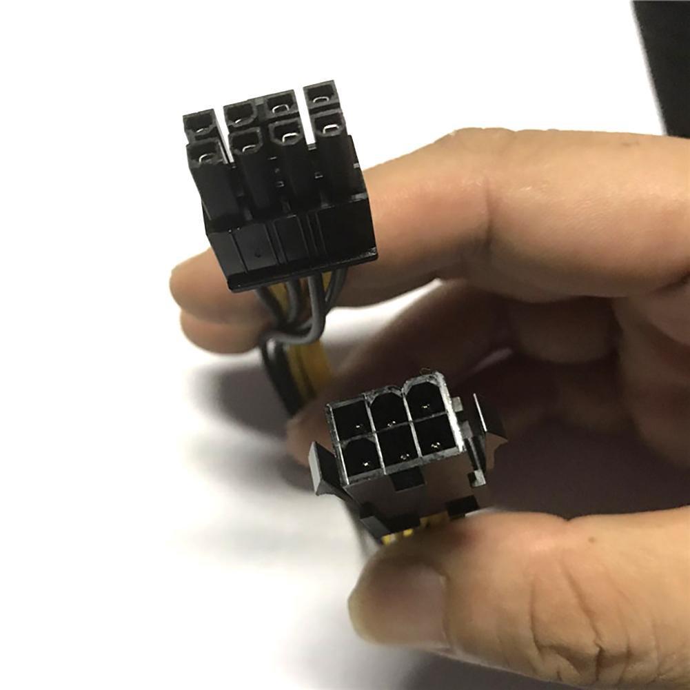 Cáp Chuyển Nguồn Từ 6 Pin Sang 8 Pin Cho Card VGA