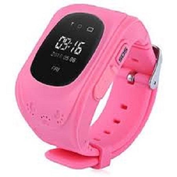 Đồng hồ thông minh định vị Q50 cho bé ( hồng)