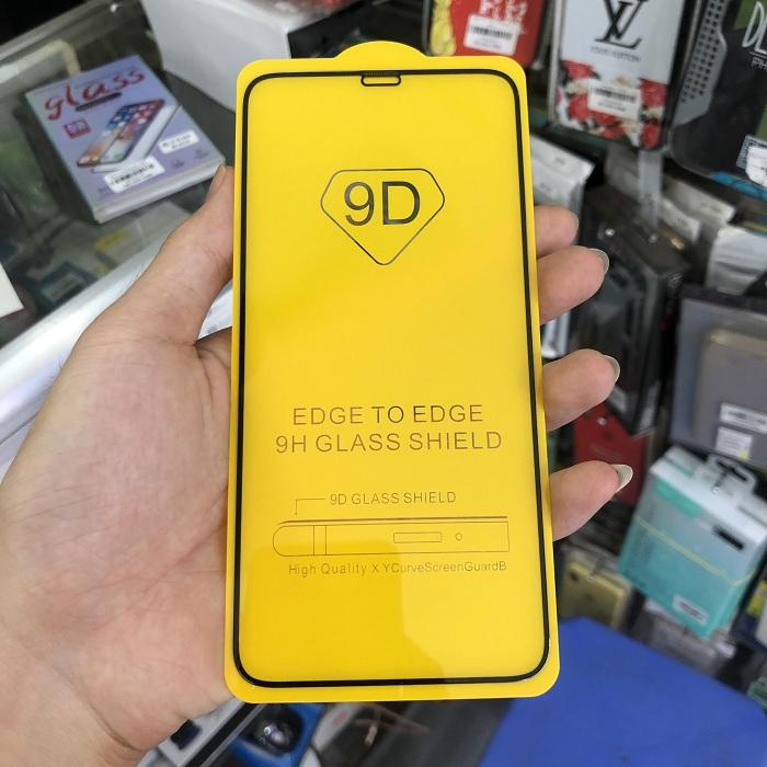 Tấm dán kính cường lực full màn hình 9D dành cho  iPhone X