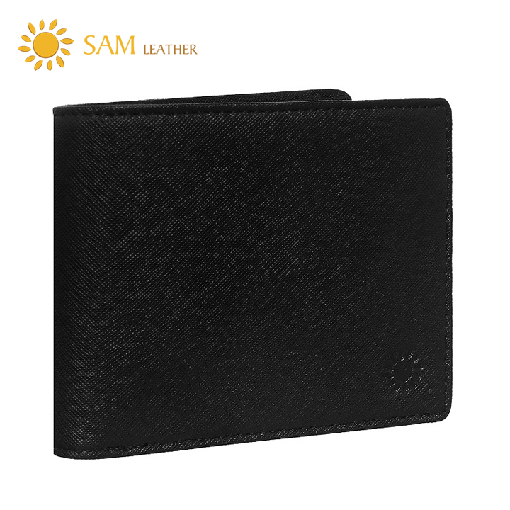 Hình ảnh Ví Nam Da Bò Cao Cấp SAM Leather- Bóp Da Saffiano SAM102