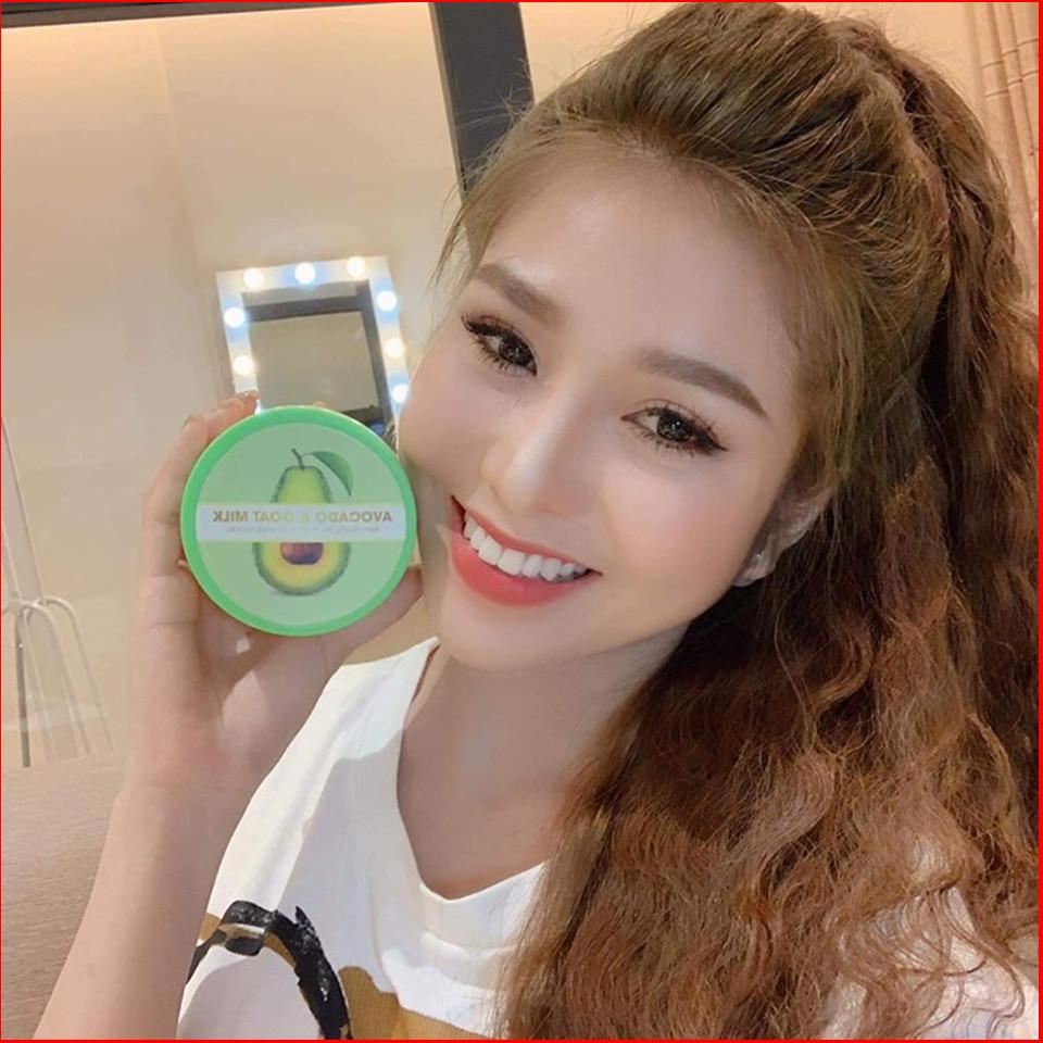 Queen Cosmetic Body Cream - Kem Body Trắng Da Chiết suất Trái Bơ