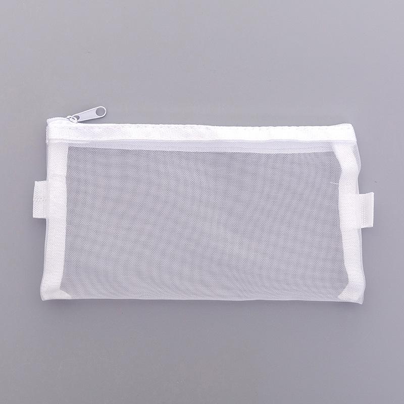 Túi đựng bút vải lưới basic 20x11cm