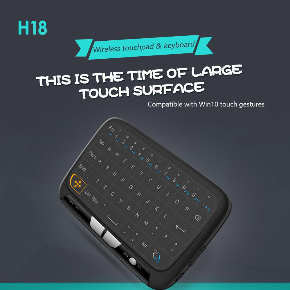 Bàn phím mini cảm ứng H18