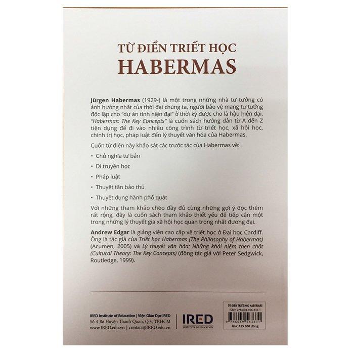 Từ Điển Triết Học Habermas