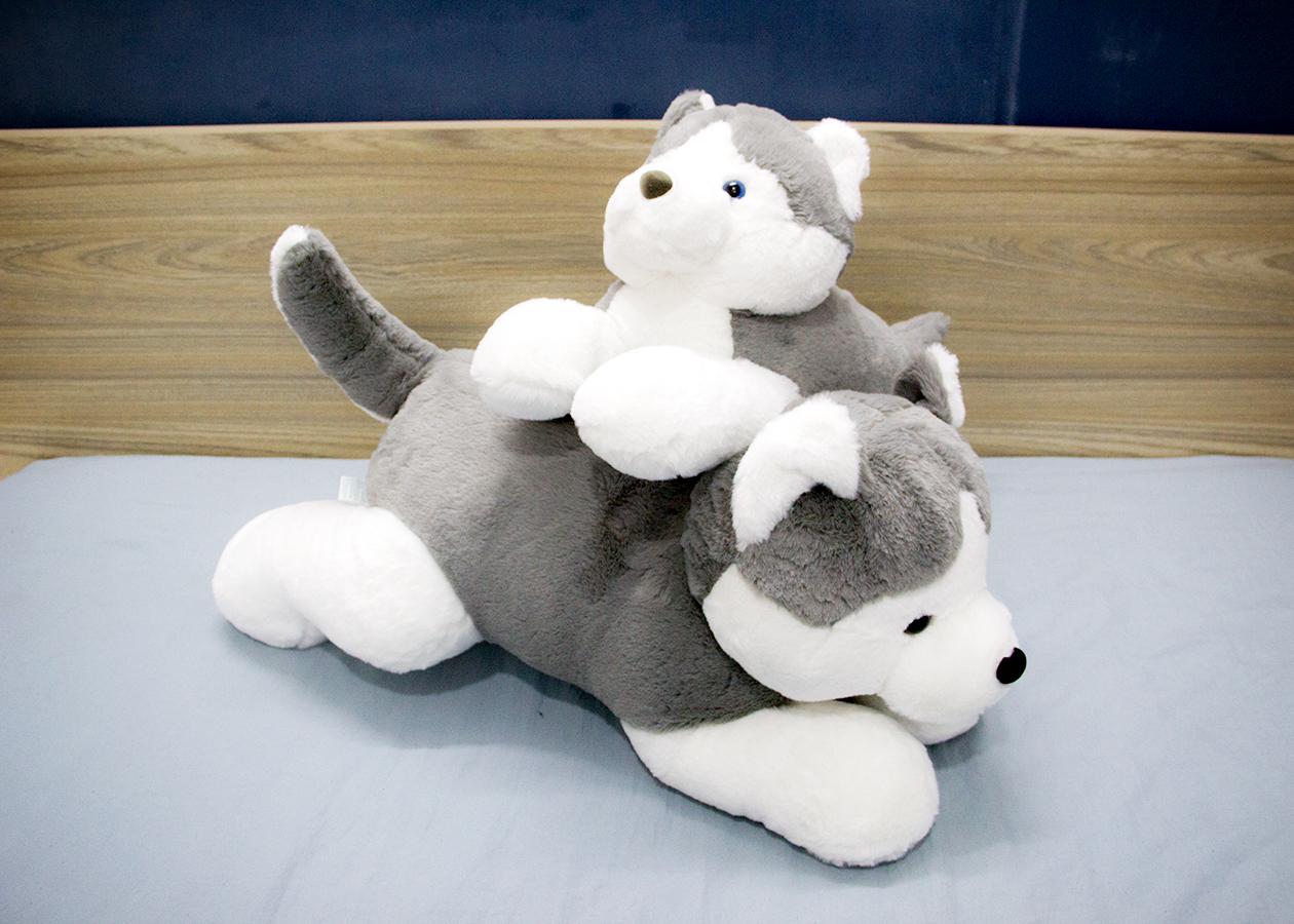 Thú nhồi bông chó Husky BA00083