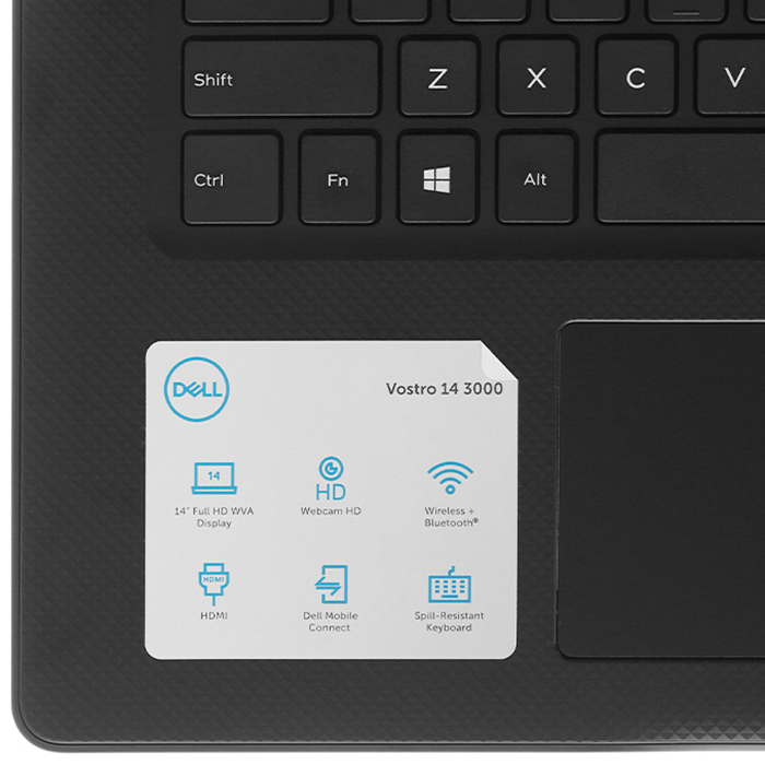 Laptop Dell Vostro 3491 70223127 (Core i3-1005G1/ 4GB RAM/ 256GB SSD/ 14FHD Win10) - Hàng Chính Hãng