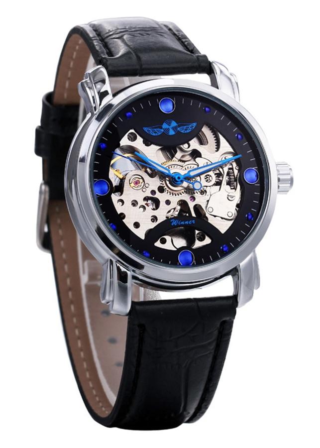 Đồng hồ cơ nam Winner H005M lộ máy - Fullbox chính hãng