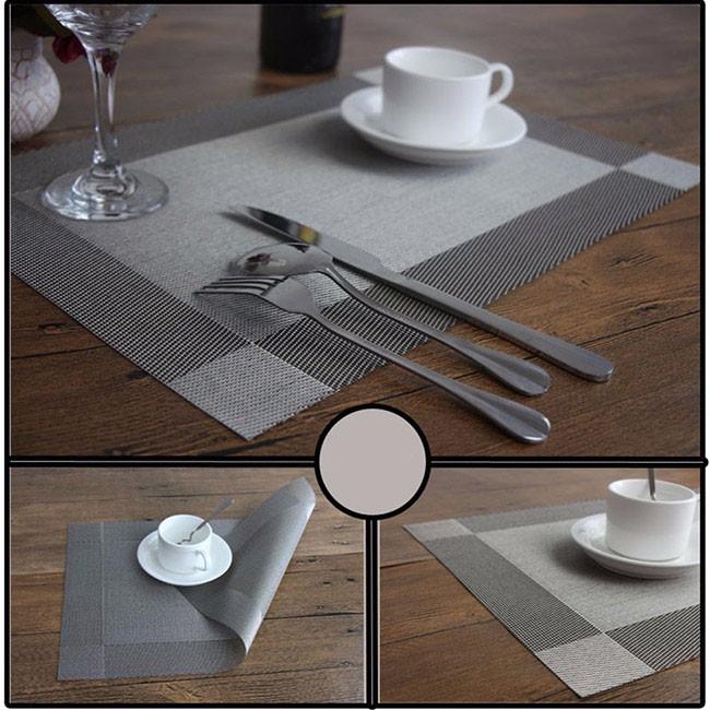 Bộ 4 tấm lót bàn ăn cao cấp