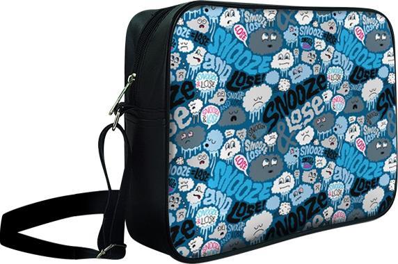 Túi Đeo Chéo Hộp Unisex Quái Vật Snooze Và Lose - TCHT006 34 x 9 x 25 cm