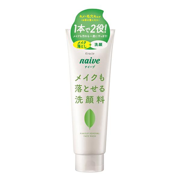 Sữa Rửa Mặt Kèm Tẩy Trang Trà Xanh Naive (200g)