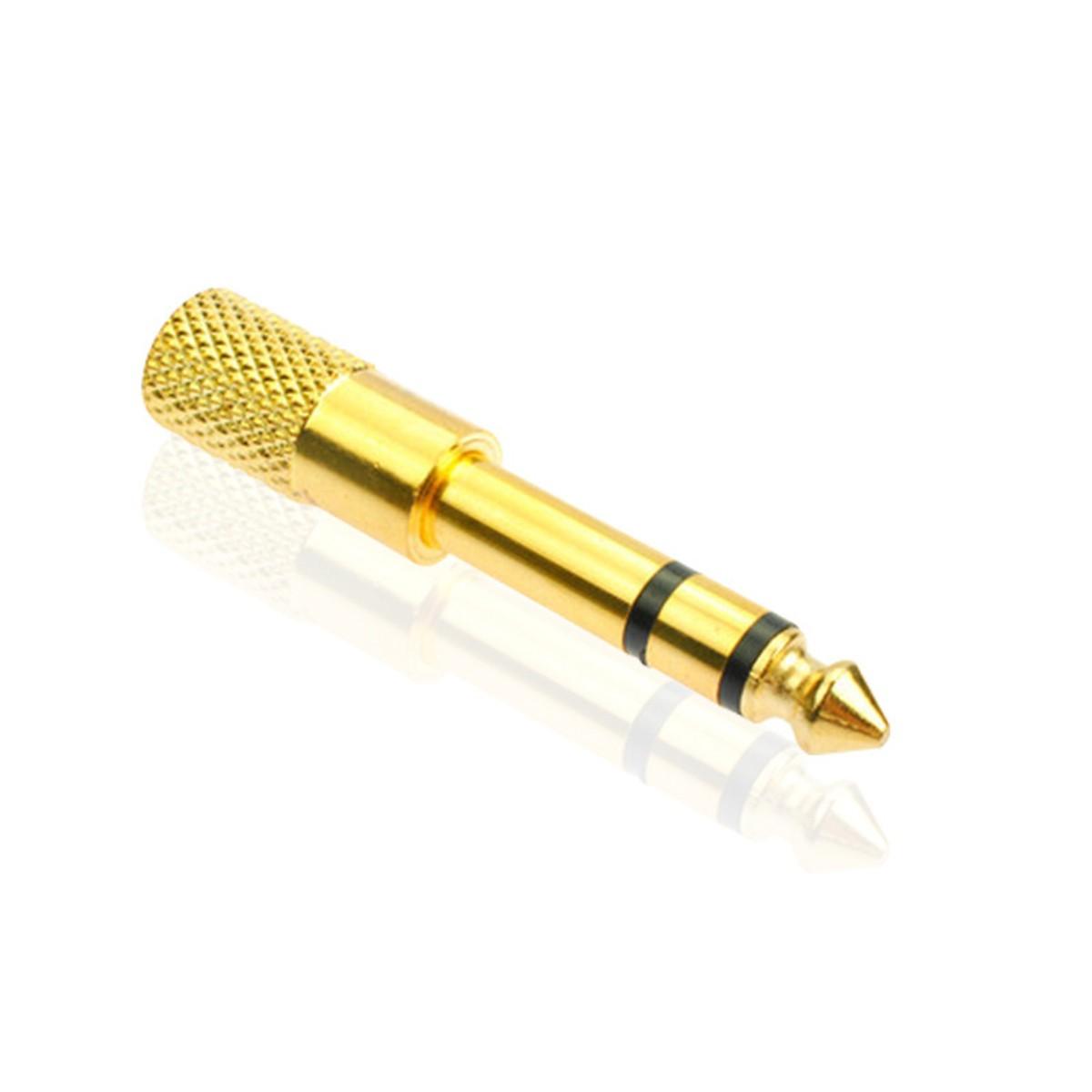 Đầu chuyển đổi âm thanh 6,5mm Dương sang 3,5mm Âm - 3,5mm cái sang 6,5mm đực