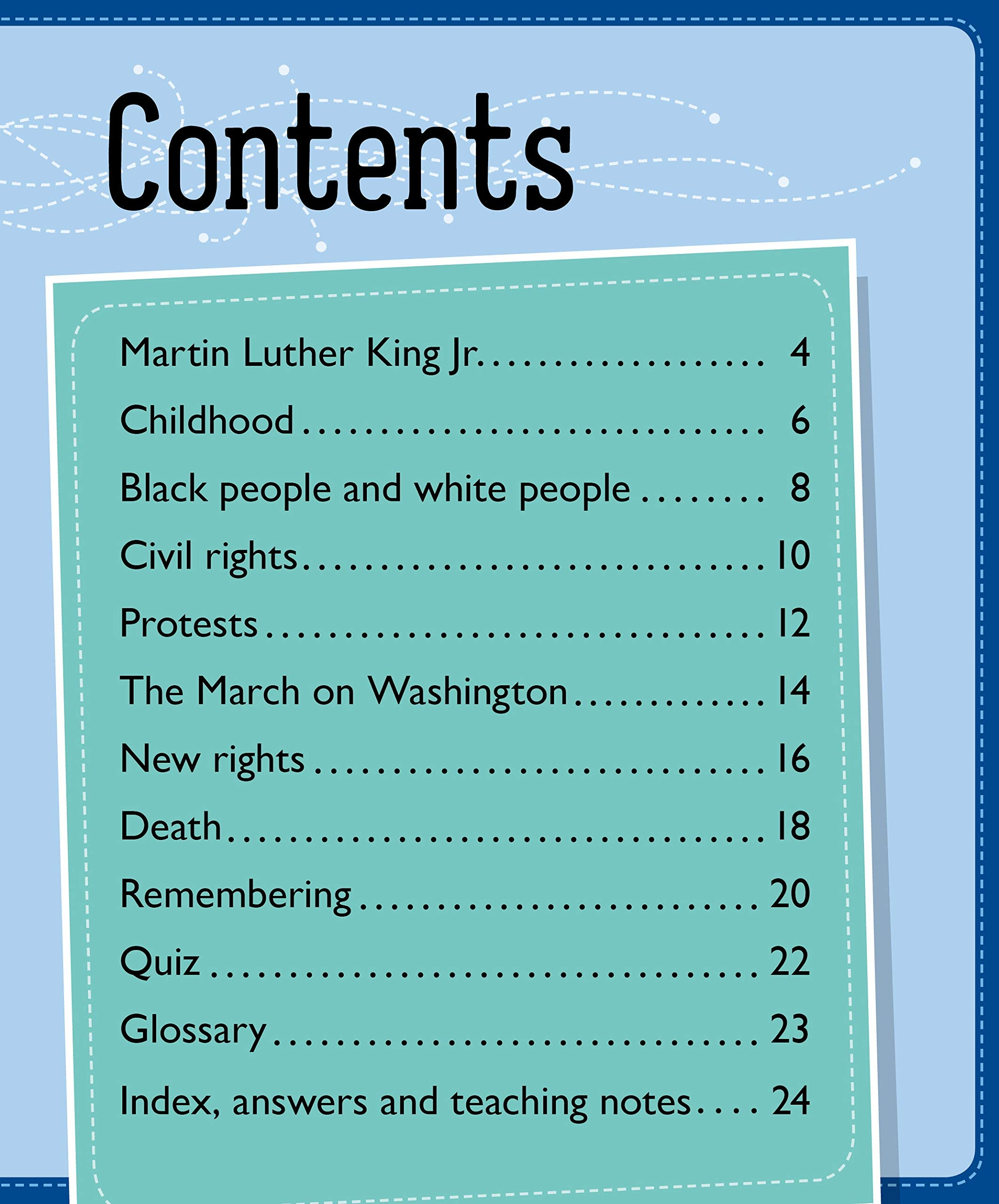 Martin Luther King Jr. (Info Buzz: Black History)