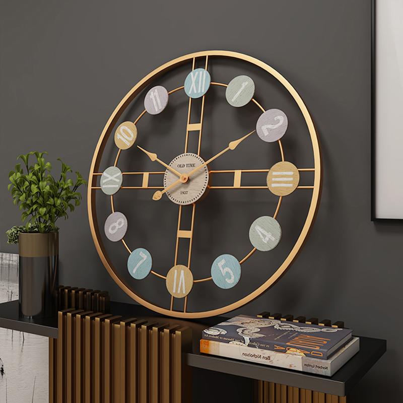 Đồng hồ treo tường số la mã và số hiện đại - Đồng hồ trang trí cao cấp - Đồng hồ phòng khách, sảnh, phòng làm việc