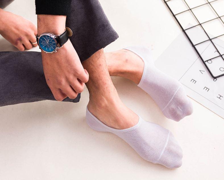Giày Thể Thao Nam (Tặng Tất Cotton), Nâng Chiều Cao 3cm, Vải Thoáng Khí, Chắc Chắn- VNS-JD888