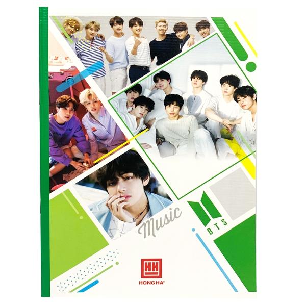 Vở South Star Kpop 4 Ôly Vuông (96 Trang) - 0752 - Mẫu 5 - BTS