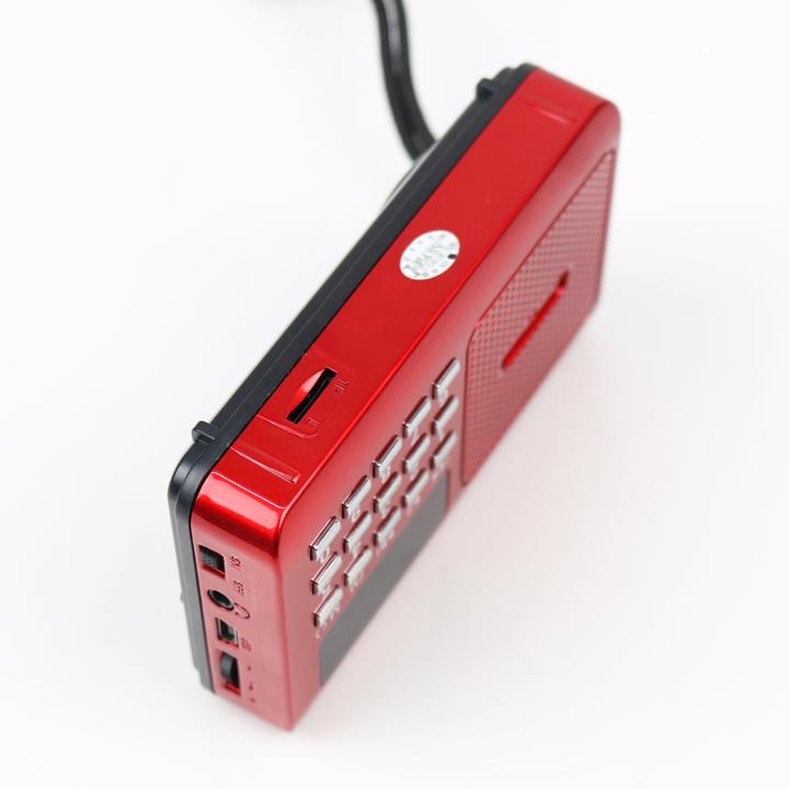 Loa mini nghe nhạc thẻ nhớ, USB, nghe kinh phật, radio nghe đài fm CR-16